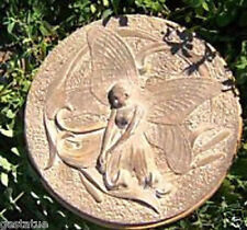 Plaster concrete fairy abs plastic stepping stone mold