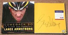 Lance Armstrong COMEBACK 2.0 Signed Book PSA/DNA COA