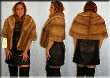 Pastel Mink Fur Stole  - One Size Fits All - Efurs4less