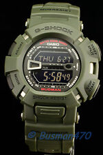 CASIO G-SHOCK G-9000-3 Mudman Dual Army Green Mens' Watch 100% Original & Gift