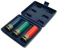 Laser Ecrou de Roue Set 3 Pièces 17mm 19mm 21mm Couche Mince Nylon Pochette 3039