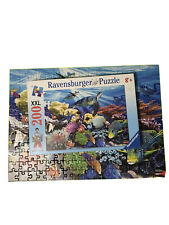 Ravensburger Ocean Turtles Puzzle 200 Xxl Complete Tropical Fish Reef Jigsaw