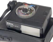 Nikon SB-15 + Estuche blando-Speedlight Flash