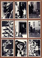 Complete Set 1964 Topps President John F Kennedy JFK + 8 card extension, ALL NM+