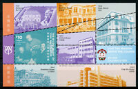 Hong Kong 2018 MNH Ying Wa College Bicent 1v M/S Education Architecture Stamps