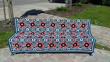 Handmade crochet queen size afgan blanket sale