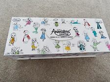 DISNEY Store 2016 ANIMATORS COLLECTION Princess ORNAMENT SET of 5 In Box NEW