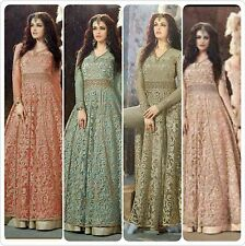 Bollywood Designer Robe Zoya couleurs Indian Traditional Actual Pic liste ethnique