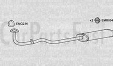 EXDU2004 EXHAUST FRONT PIPE & SILENCER +3Yr Warranty
