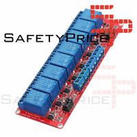 Modulo rele 8 canales 24V alto / bajo nivel con optoacoplador automatizacion PLC