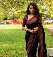 Sari Saree Silk Wear Indian Blouse Designer Party Bollywood Wedding Ethnic