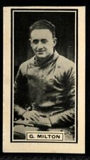 Trade Card, DC Thomson, Wizard, 1930 SPEEDWAY STARS, George Milton,Warrington,#8