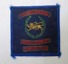 The Kings own Royal Border Regiment Nijmegen Team Cloth Veterans Badge