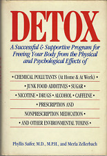 DETOX by Merla Zellerbach and Phyllis Saifer - Drugs Alcohol Hardcover - GOOD!