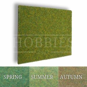Javis Rough Grass Landscape Mat Hill Cover Wargame 00 N Gauge Model Railways