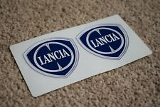 Lancia Emblem Badge Logo Racing Race Rally Decal Sticker 100mm