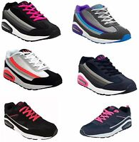 Ladies Womens Airtech Running Shock Absorbing Gym Jogging Sports Trainers Shoes