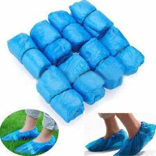 100 Stück Einweg Schuhüberzieher Einwegschuhe Überzieher Überschuhe Blau