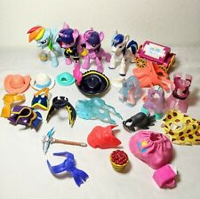"My Little Pony Guardians Of Harmony 4"" Figure 2016 Lot 27 w Accessories Mlp"