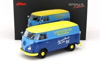 Schuco VW T1b Transporter Nürnberger Nachrichten 1959-1963 blau/gelb Limitier...