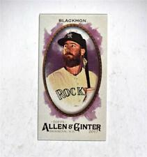 2017 Topps Allen and Ginter Mini A and G Back #234 Charlie Blackmon - NM-MT