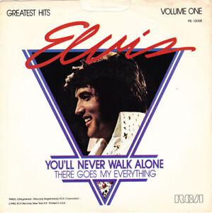 "ELVIS PRESLEY - You'll  Never Walk Alone 7"" 45"