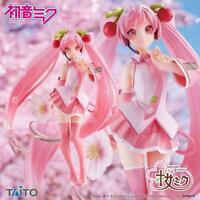 Vocaloid Figurine TAITO Cherry Blossoms SAKURA MIKU 2021 Miku Hatsune