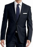 Calvin Klein Mens Suit Seperates Blue Size 44 Long Slim Two Button $425 304