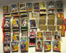 1986-1990 HUGE Unopened Rack Cello Pack Collection 19 - All Rookies Look!