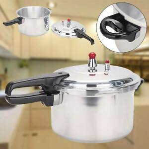 7 LITRE PRESSURE COOKER ALUMINIUM 7L KITCHEN CATERING HOME life  Handle