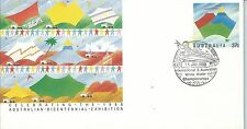 1988 White Water Champ Special Postmark Harvey WA 11 Jan Pictor Marks No PM 1437