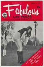 Fabulous Las Vegas Magazine Gambling Memorabilia Casino Golf Scene