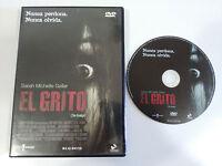 EL GRITO THE GRUDGE DVD + EXTRAS ESPAÑOL ENGLISH TERROR SARAH MICHELLE GELLAR