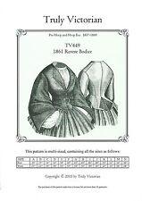 Schnittmuster Truly Victorian TV 449: 1863 Revere Bodice