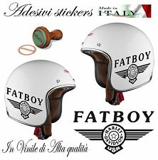 1 ADESIVO STICKERS HARLEY DAVIDSON FAT BOY SERBATOIO-CASCO MOTO CUSTOM