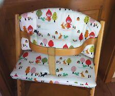 Reductor de asiento cojines de asiento cuentos de hadas para Stokke tripp Trapp babyset silla alta nuevo