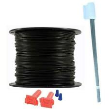 Heavy Duty Pet Fence 1000' Wire Splices & Flag Kit