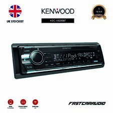 KENWOOD KDC-X5200BT CD RADIO BLUETOOTH A2DP USB AUX iPHONE ANDROID CAR STEREO