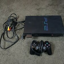 Sony Playstation 2 SCPH-30001 R Console PS2 Fat Tested Controller Cables Hookups