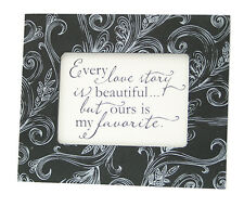 Framed Quote - Small - Every love story is beautiful... by Kindred Hearts