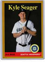 Kyle Seager 2019 Topps Archives 5x7 Gold #54 /10 Mariners