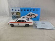 Vanguards VA05503 Ford Consul West Yorkshire Police Reg GMW 377N 1:43 Scale