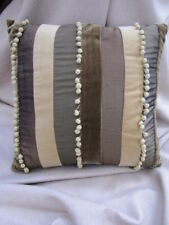 Gorgeous Nettex CONSTANTINOPLE OLIVE Striped Velvet Cushion Cover SALE