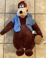 "NEW Disney Parks Splash Mountain Br'er Bear 17"" Plush Brer WDW NWT Walt World"