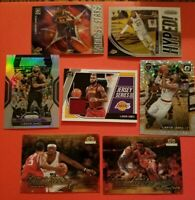 LEBRON JAMES JERSEY +SILVER Prizm REFRACTOR OPTIC FASTBREAK HOLO +UD ROOKIE CARD