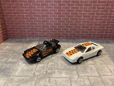 Corgi Porsche 911 Targa And Ferrari Testarossa Vintage Kellogs Lot