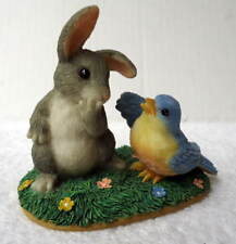 Charming Tails A Little Bird Told Me Fitz & Floyd Figurine #F65