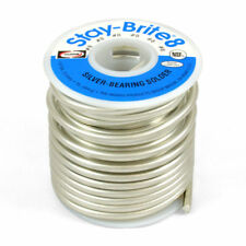 "SB861 Harris Stay Brite 8 Silver Bearing Solder 1/8"" 3.2mm X 1 Lb. Pound"