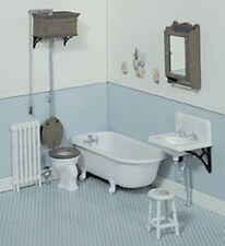 Dollhouse Miniature Chrysnbon Victorian Bathroom Kit