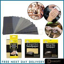 Klingspor Sandpaper 20-2500 Grit, Multipurpose use on Wood Plasterboard Metal